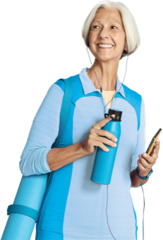 Woman with active healthy lifesyle